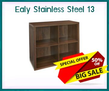 Storagefurniturewithbaskets Ealy Stainless Steel 13